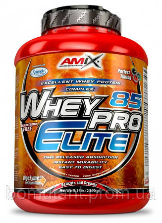 Whey Pro Elite 85% 2,3 кг forest fruit AMIX