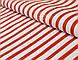 Бязь с красной полоской шириной 6 мм (№ 136)., фото 3