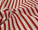 Бязь с красной полоской шириной 6 мм (№ 136а)., фото 6