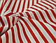 Бязь с красной полоской шириной 6 мм (№ 136)., фото 4