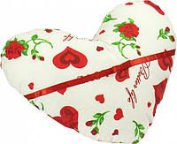 Декоративная подушка От всего сердца