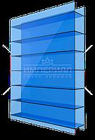 Сотовый поликарбонат 10мм TM SOTON синий