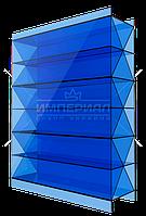 Сотовый поликарбонат 16мм X TM SOTON синий