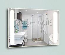 Дзеркало з LED підсвічуванням 800х600мм для ванної кімнати, Лэд