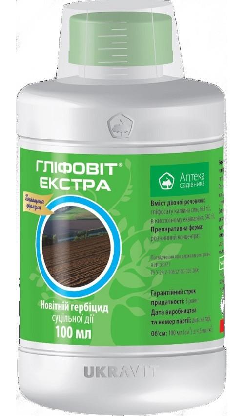 Глифовит Экстра 100 мл гербицид, Укравит
