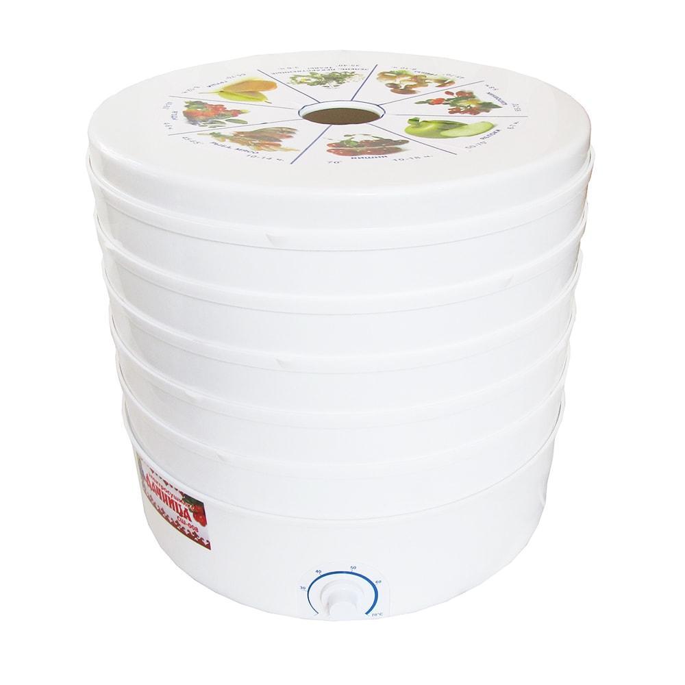 Электросушилка для фруктов и овощей Дачница мощностью 520 Вт