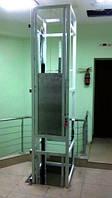 Сервисный подъёмник-лифт для продуктов питания. Кухонный, ресторанный.