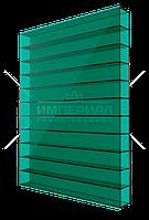 Сотовый поликарбонат 6мм TM SOTON зеленый