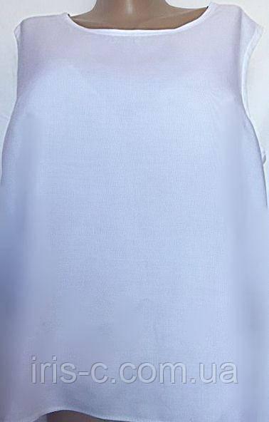 Женская блуза из вискозного поплина, размер 24