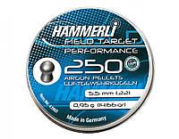 Пули Hammerli Field Target Performance 250 штук 5,5 mm (4.1903)