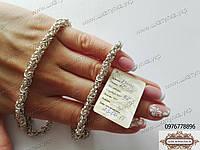Серебряная цепочка Кинг 60 см