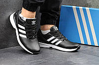Мужские кроссовки Adidas Zx Flux черные 2898