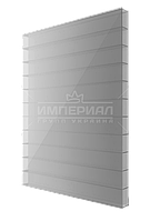 Сотовый поликарбонат 4мм TM SOTON серебро