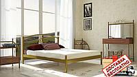 Кровать металлическая кованная Кассандра полуторная, фото 1