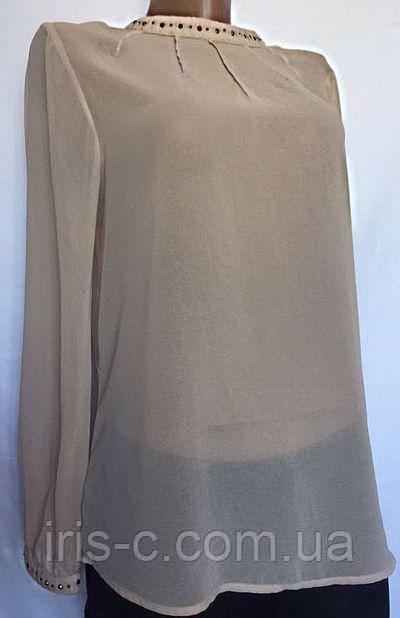 Женская блуза ZARA женская из шифона размер M