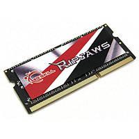 Память SO-DIMM 4Gb, DDR3, 1600 MHz (PC3-12800), G.Skill Ripjaws, 9-9-9-28, 1.35V (F3-1600C9S-4GRSL)