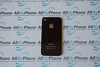 Задняя панель корпуса для мобильного телефона Apple iPhone 4 Black