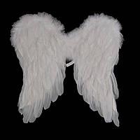 Крылья Амура средние 45х45см (белые)
