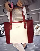 Вместительная оригинальная женская сумка Meidone, фото 2