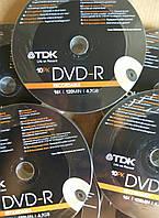 DVD -  R Tdk 16 х (10 шт )