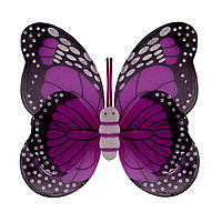 Крылья Бабочки пятнистые (малиновые) 42х48см