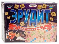 Настольная игра Эрудит 051 большая Strateg, 051