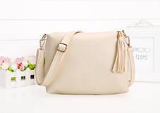 Удобная сумка с кисточкой и длинным поясом, фото 3