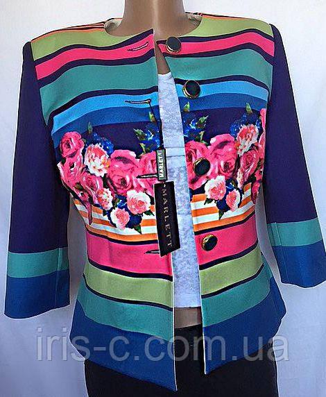 Женский трикотажный пиджак размер M/L