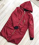 Женская утепленная демисезонная куртка (расцветки), фото 5