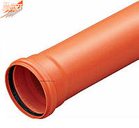 Труба 110*1000*3.2 SDR 34 (SN 8)* тяжелая для наружной канализации