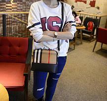 """Красочные женские твидовые сумки с узорами """"плед"""", фото 3"""