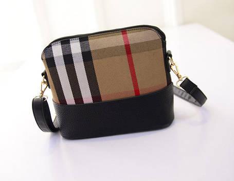 """Красочные женские твидовые сумки с узорами """"плед"""", фото 2"""