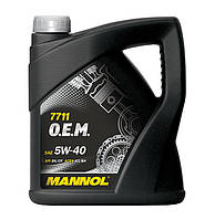 Моторное масло Mannol O.E.M. for Daewoo GM 5w40 SN/CF 4л