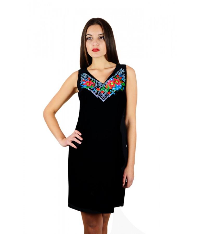 f8627895c29 Сарафан вишитий жіночий. Плаття вишите хрестиком. Вишита жіноча сукня.  Вишиванки жіночі. Сукні