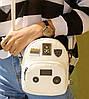 Стильный городской рюкзак с фигурными значками, MOSHOINOT, фото 4