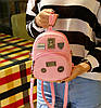 Стильный городской рюкзак с фигурными значками, MOSHOINOT, фото 5