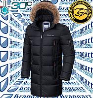 Мужские куртки Braggart Dress Code - 3742#3741 черный