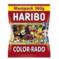 Жевательные конфеты HARIBO COLOR-RADO Maxipack 360g