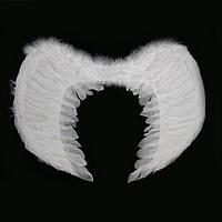 Крылья Ангела Большие 60х43см (белые)