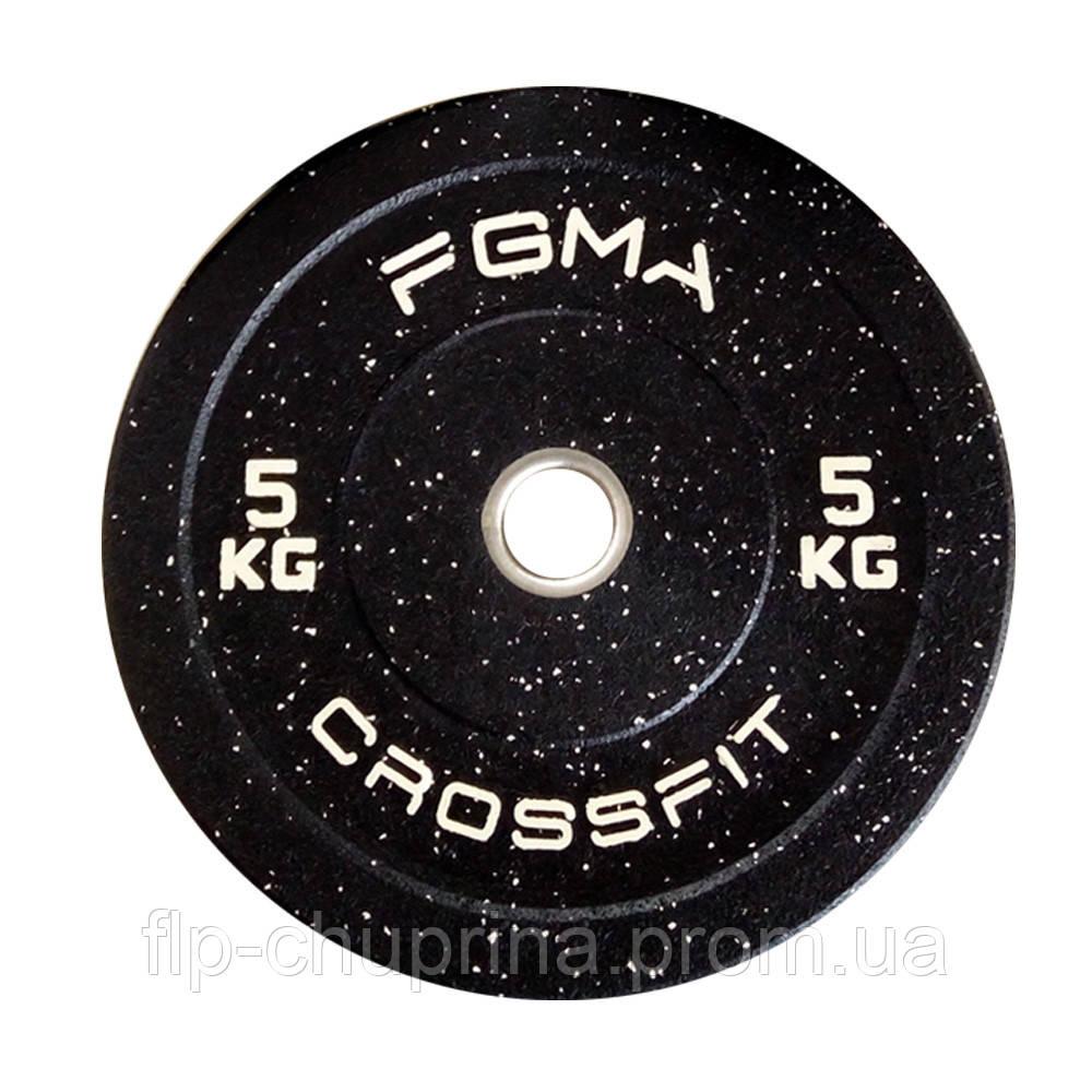 Бамперный диск (млинець) для CrossFit FGMA 5kg