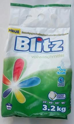 Стиральный порошок Blitz Universal, 3.2 кг (Германия)