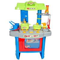 Игровой набор 008-26 А Кухня с плитой, посудкой и аксессуарами, свет, звук, фото 1