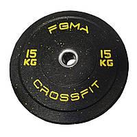 Бамперный диск (блин) для CrossFit  FGMA  15kg
