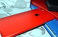 """Виниловая наклейка """"Красный мат"""" Iphone 6 PLUS / 6S PLUS (0,1 mm)"""
