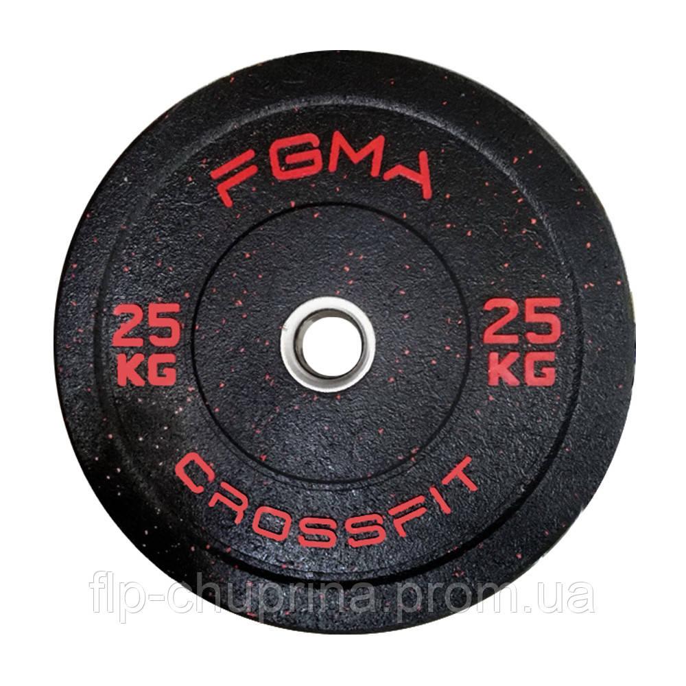 Бамперный диск (млинець) для CrossFit FGMA 25kg
