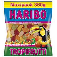 Жевательные конфеты HARIBO TROPIFRUTTI- Тропические фрукты Maxipack 360g