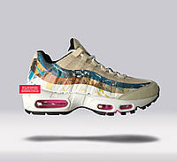 Женские кроссовки Nike Air Max 95 x Dave White x size? Rabbit Stone/Thunder/Light Bone