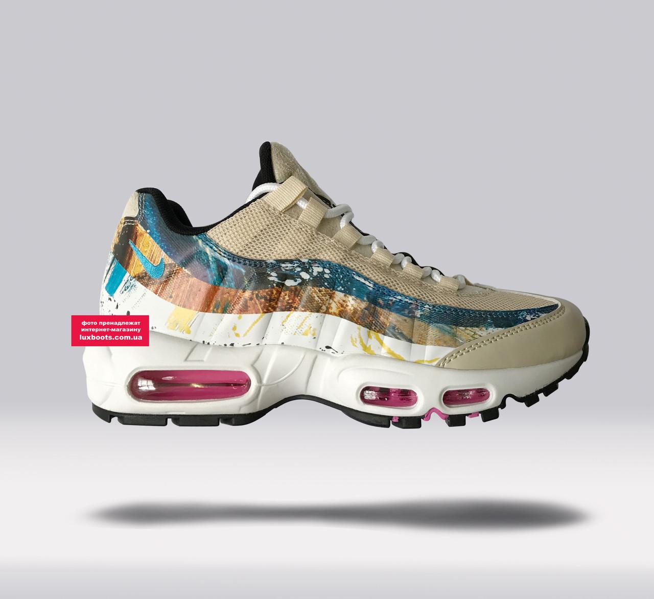 539d812677 Женские кроссовки Nike Air Max 95 x Dave White x size? Rabbit Stone/Thunder
