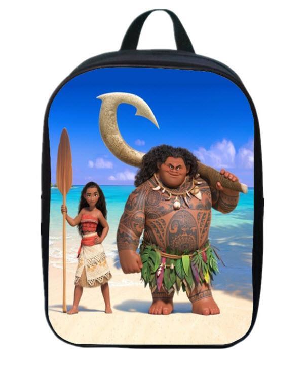 Не большие рюкзаки с принтом мультфильма Моана