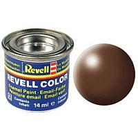 Краска № 381 коричневая шелковисто-матовая brown silk 14ml, Revell